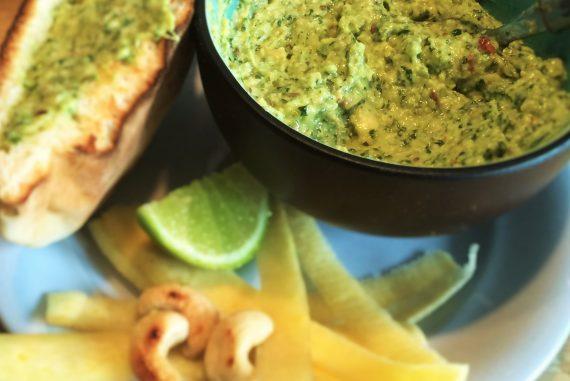 Coriander dip recipe