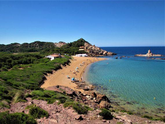 Menorca unspoilt beach